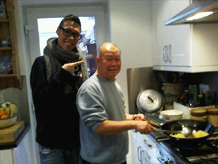 Gok Wan with his father