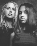 Tiffany Tucker and daughter Brittany, photo by Connie Herweck