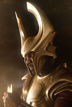 Idris Elba as Heimdall in Thor by Paramount Pictures